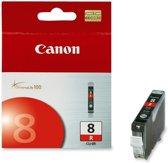 Canon CLI-8R - Inktcartridge / Rood