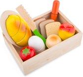 New Classic Toys - Speelgoed Snijset - Ontbijt - In kistje