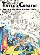 Kleurboek voor volwassenen 1 - Tattoo creator