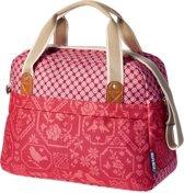 Basil Boheme Carry All Bag Enkele Fietstas - 18 l - Vintage Rood