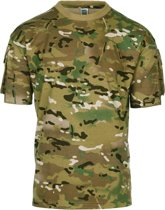 101inc T-shirt Tactical Pocket multi camo