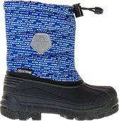 Color Kids Dylano snowboots voor kinderen  Snowboots - Maat 33 - Unisex - blauw/wit/zwart
