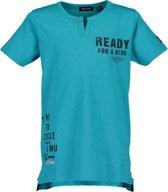 Blue Seven Jongens T-shirt - blauw - Maat 152
