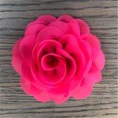 Leuke bloem (roos) op Clip - Roze