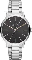 Armani Exchange Cayde horloge  - Zilverkleurig
