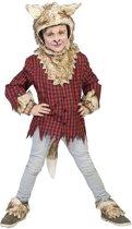 Weerwolf Kostuum   Wolf Weylyn   Jongen   Maat 140   Halloween   Verkleedkleding