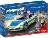 PLAYMOBIL Porsche 911 Carrera 4S Politie wit - 70066