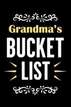 Grandma's Bucket List