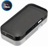 Elektrische Aansteker | Zwarte Vlamloze Aansteker | Windbestendig (incl. USB-kabel)