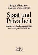 Staat Und Privatheit: Aktuelle Studien Zu Einem Schwierigen Verhaltnis