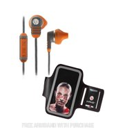 Yurbuds Venture Pro - In-ear Sport Oordopjes met MFI Afstandsbediening & Mic - Burnt Orange