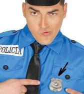 Politie Badge Metaal
