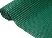 Nature - Tuinscherm - PVC - Enkelwandig - Groen - 1,50 x 5m