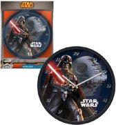 Star wars wandklok Darth Vader.