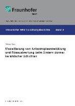 Modellierung von Anisotropieentwicklung und Rissausbreitung beim Sintern dünner keramischer Schichten.