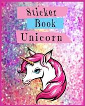 Sticker Book Unicorn
