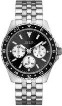 GUESS Watches -  W1107G1 -  Horloge -  Mannen -  RVS - Zilverkleurig -  44  mm