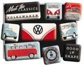 Magneet Set Volkswagen Meet The Classics