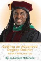 Getting an Advanced Degree Online