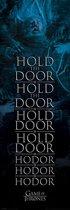 Game of Thrones Hold the Door Hodor - Deurposter