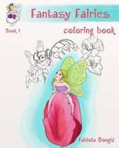 Fantasy Fairies Coloring Book