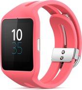 Sony Smartwatch 3 - Siliconen - Roze