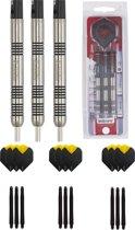 Unicorn Core Tungsten 23 gram dartpijlen met extra 9 extra - dartshaft - en 9 extra - dartflights