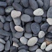 Beach Pebbles zwart 8-16 mm grind per bigbag (1800 kg)