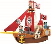 Ecoiffier Abrick piratenschip