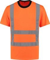 Yoworkwear T-shirt RWS Fluor Oranje - Maat XL