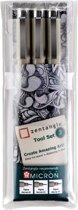 Zentangle Original tool set 3 (3 Pigma Micron fineliners)
