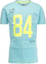 Vingino Jongens T-shirt - blauw - Maat 152