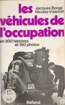 Les véhicules de l'Occupation