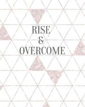 Rise And Overcome: Motivational Note Taking System Book For Students