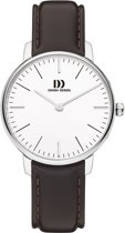 Danish Design IV12Q1175 horloge dames - bruin - edelstaal
