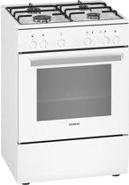 Siemens iQ100 HX5P00B20N Gas-elektrisch fornuis, wit