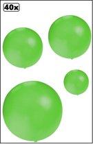 40x Mega Ballon 60 cm groen