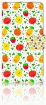 Bookcase Sony Xperia XZ Premium Design Fruits