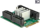 DeLOCK 62850 Intern SATA interfacekaart/-adapter