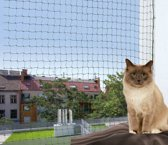 Katten beschermingsnetten verstevigd 6 x 3 meter