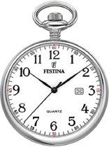 Festina F2019/1 - Zakhorloge - Staal - Zilverkleurig - Ø 42 mm