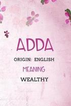 Adda English Wealthy