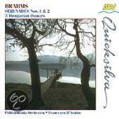 Brahms: Serenades no 1 & 2, etc / D'Avalos, Philharmonia
