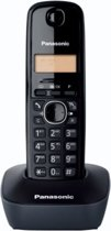 Panasonic KX-TG1611 - Single DECT telefoon - Zwart