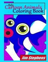 Baby Cartoon Animals Coloring Book