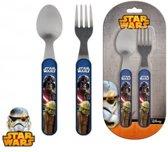 Lucasfilm Star Wars Besteksetje - Kunststof/metaal