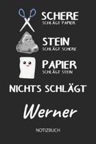 Nichts schl gt - Werner - Notizbuch