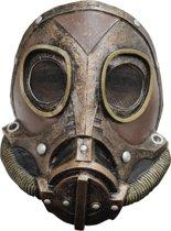 Gezichtsmasker (Latex) M3A1 Steampunk