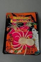 Halloween Glow in the dark spinnen 3 stuks