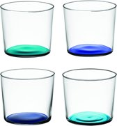 LSA Coro Waterglazen - 4 Stuks - 310 ml - Blauw